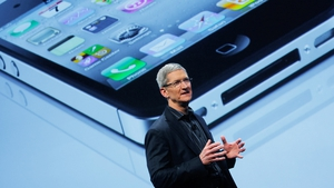 Tim Cook defended Apple's Irish operation, saying it did not take tax away from the US