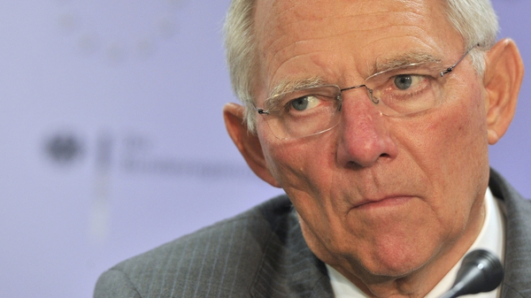 Wolfgang Schaeuble says bank recapitalisation will not be speedily arranged