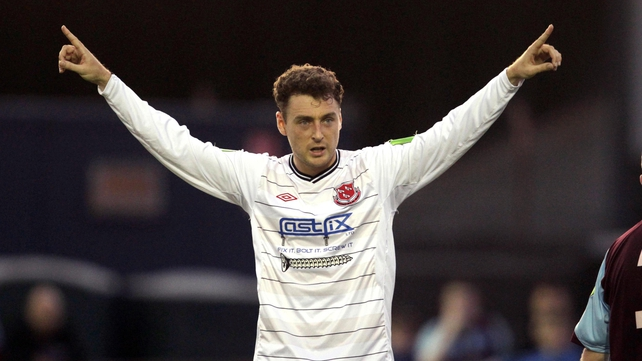 Mark Quigley departs Oriel Park for Sligo Rovers