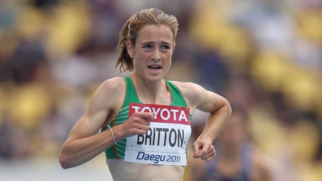 Fionnuala Britton just missed out on a place in the final of the 3000m Ste