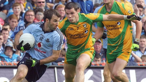 Bryan Cullen - The Dublin captain helped his side squeeze past Donegal at Croke Park