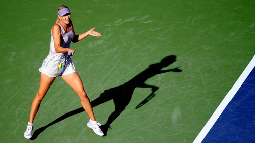 Maria Sharapova - The 2006 champion lost the first set and came back from a break in the second before securing the victory