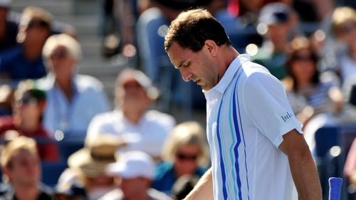 Conor Niland - Retired during the second set against Novak Djokovic