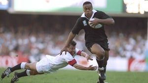 Jonah Lomu lit up the 1995 World Cup