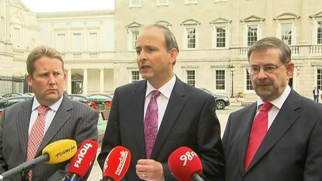 Fianna Fáil met for over three hours today