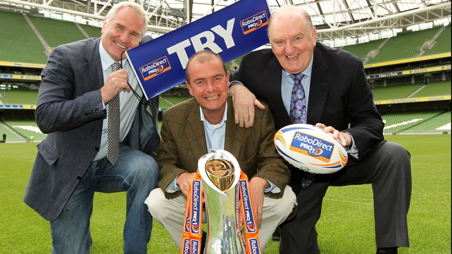 Brent Pope, Daire O'Brien and George Hook will present RTÉ's coverage of this season's campaign