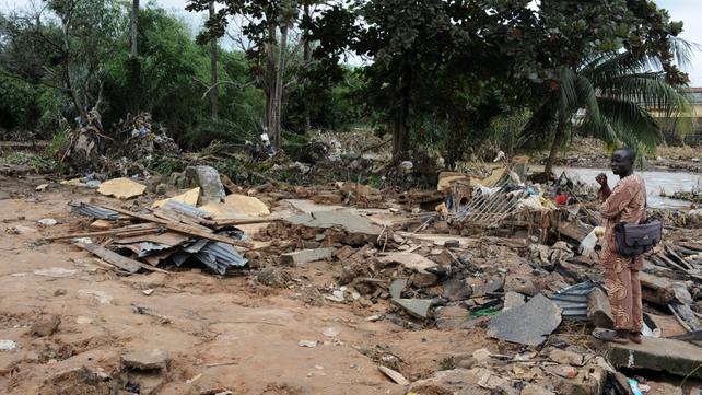 Southwest Nigeria experienced flooding when dam burst