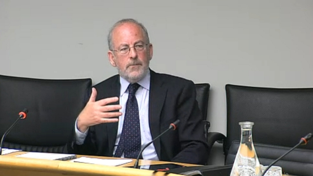 Central Bank Governor Patrick Honohan before European Affairs Committee today