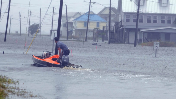 Tropical Storm Lee has caused flood damage in Louisiana