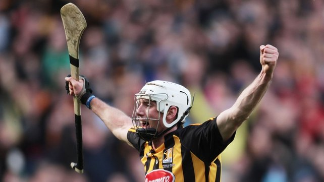 Michael Fennelly - Celebrates scoring the opening goal for Kilkenny
