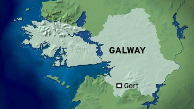 The fire broke out at flats in the centre of Gort