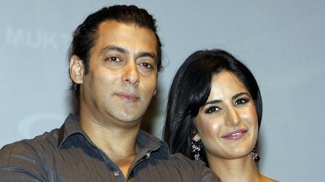 Salman Khan and Katrina Kaif both star in the film