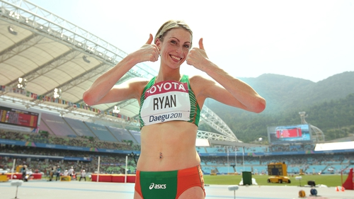 Deirdre Ryan: high jump