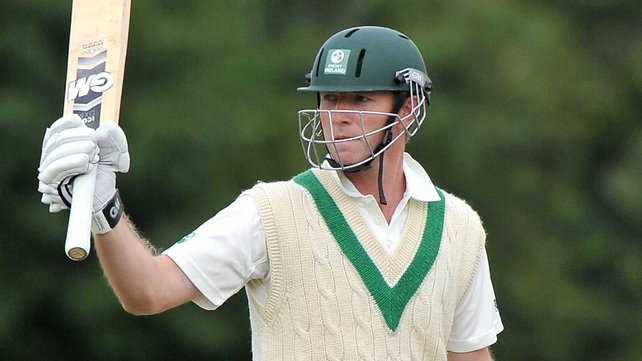 Andrew White hit 16 off 25 balls