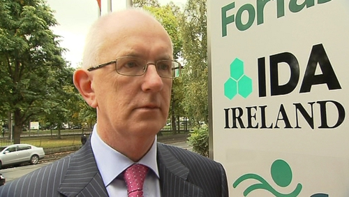 IDA chief Barry O'Leary: New buildings to help attract FDI