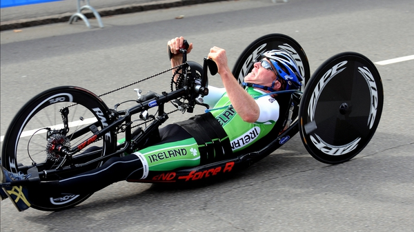 Mark Rohan narrow missed out on a podium finish