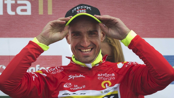 Juan Jose Cobo remains the leader in Spain