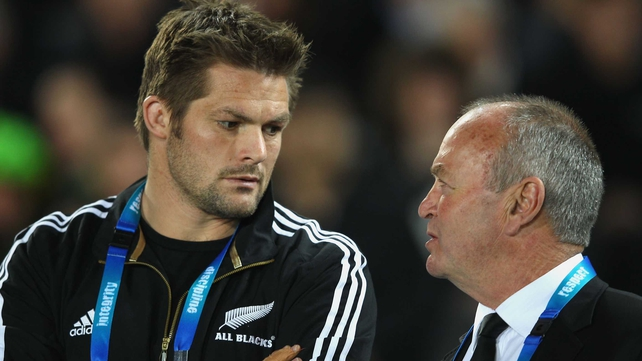 Openside flanker Richie McCaw and coach Graham Henry face the match of their lives on Sunday