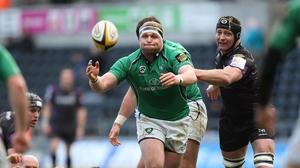 Brett Wilkinson starts for Connacht against the Scarlets