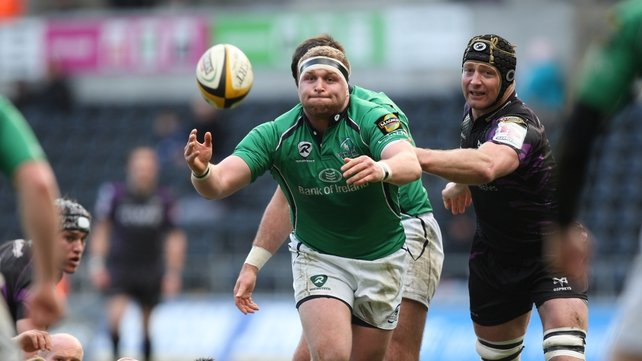 Brett Wilkinson starts for Connacht against the Scarlets