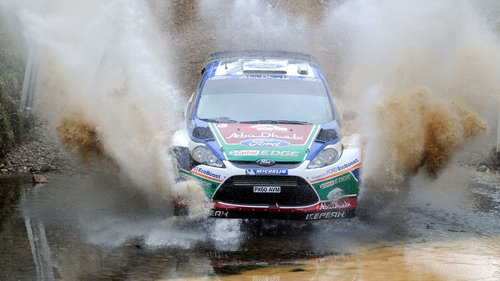 Jari-Matti Latvala - Holds the lead going into the final day of the Wales Rally GB
