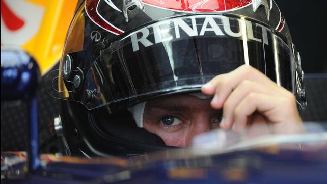 Sebastian Vettel secured his tenth pole position of the season