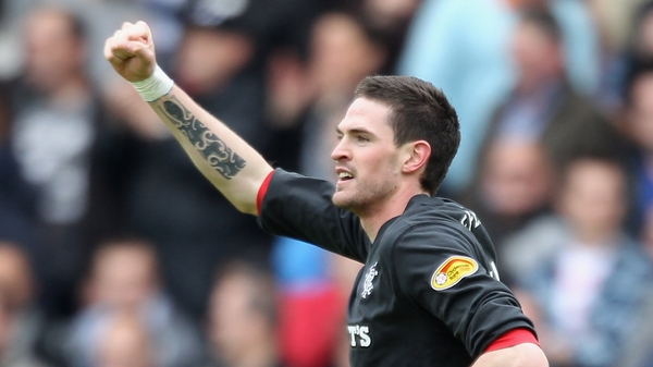 Kyle Lafferty has been suspended by Rangers