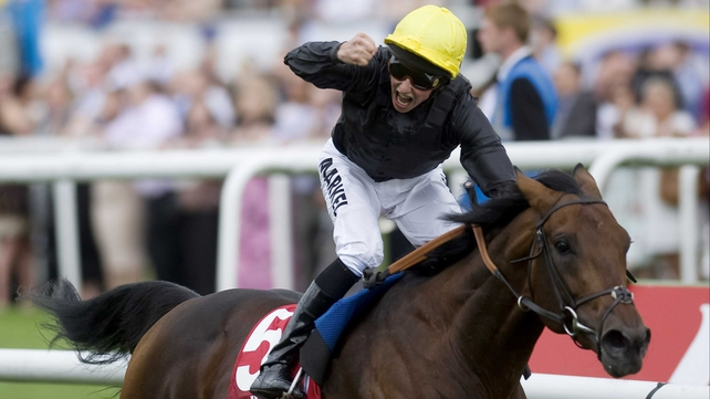 William Buick partnered Masked Marvel to win last season's St Leger