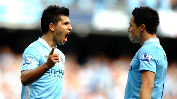Samri Nasri and Sergio Aguero were crucial to City's win over Chelsea