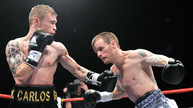 Carl Frampton dominated the four rounds in Belfast