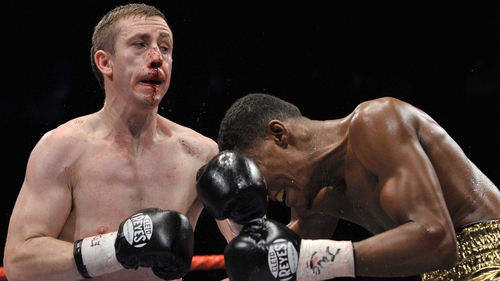 Paul McCloskey had to battle past the hard-punching Bredis Prescott