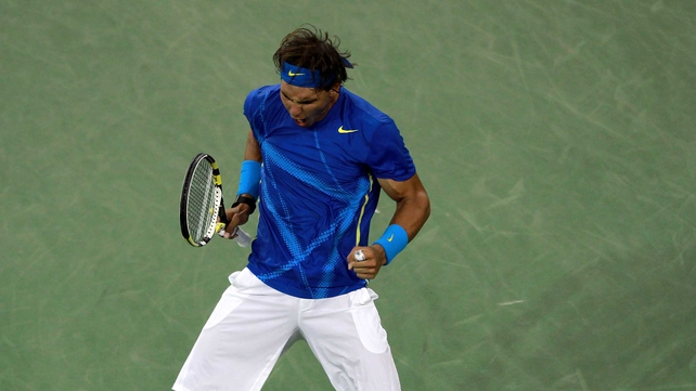 Rafael Nadal will meet Novak Djokovic in the final on Monday