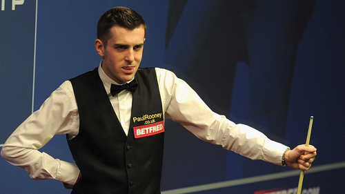 Mark Selby rattled the jaws of the pocket with his final ball
