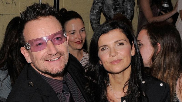 Bono and Ali Hewson showcasing their new range