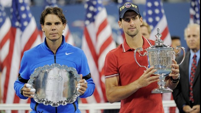 Major rivals Rafael Nadal and Novak Djokovic will meet in final