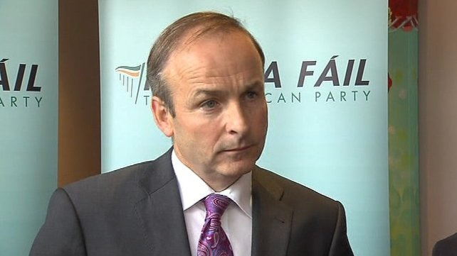 A Longford Fianna Fáil county councillor claimed the leadership of Micheál Martin has been called into question