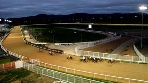 Racing was abandoned at Dundalk on Friday night
