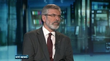 Six One News: Gerry Adams: Candidate would represent 'spirit of our people'