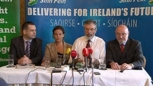 Sinn Féin are now the second most popular political party in the country