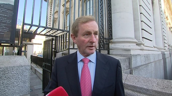 Enda Kenny said the Cabinet will receive recommendations on the sale of State assets
