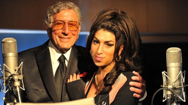 Tony Bennett and the late Amy Winehouse