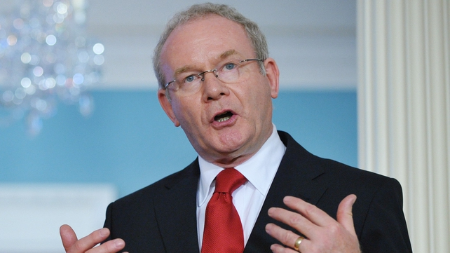 Mitchell said McGuinness had opposed the existence of the State