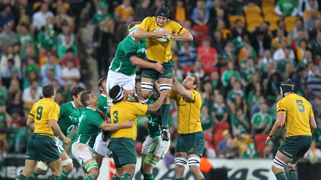 The sides last met at the 2011 World Cup where Ireland won 15-6