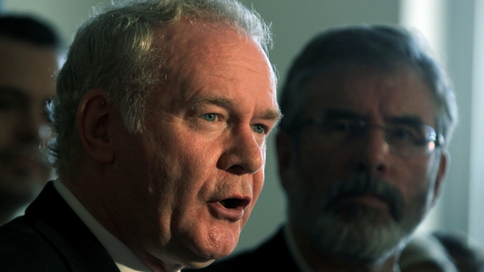 Dissidents planned rocket attack on McGuinness