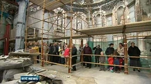 Six One News: Visitors survey damage at Athlone cathedral