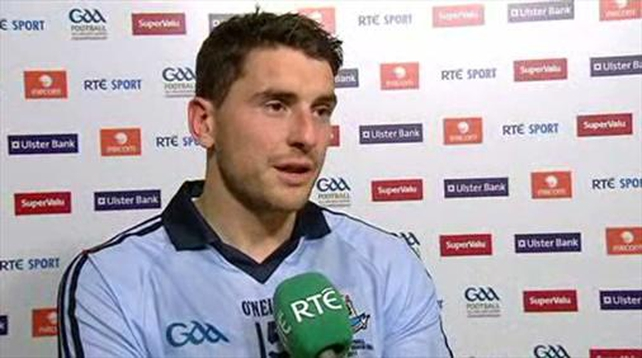 Bernard Brogan scored 0-06 for Dublin