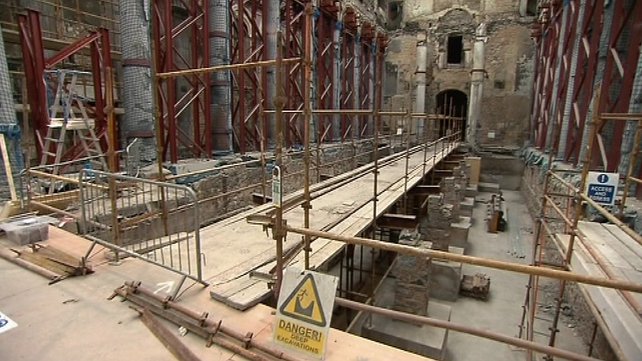 It will take five years to fully restore the church