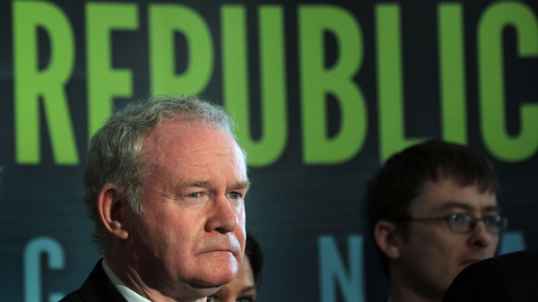 Martin McGuinness says he has spent 20 years working towards peace