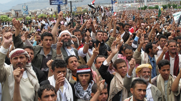 Thousands have been protesting against the rule of President Ali Abdullah Saleh