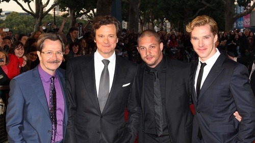 Gary Oldman, Colin Firth, Tom Hardy and Benedict Cumberbatch